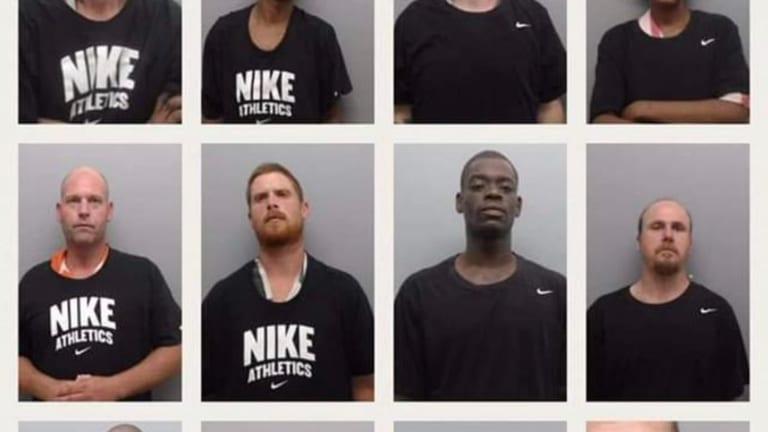 Sheriff Forces Inmates . . To Wear Kaepernick-Inspired Nike In Mugshots!!