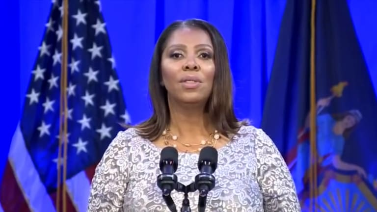 Trump Attacks NY's Black Female Attorney General Letitia James