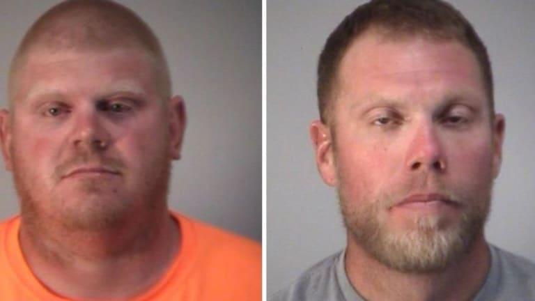 2 men shoot at two biracial children before shouting racial slurs at them