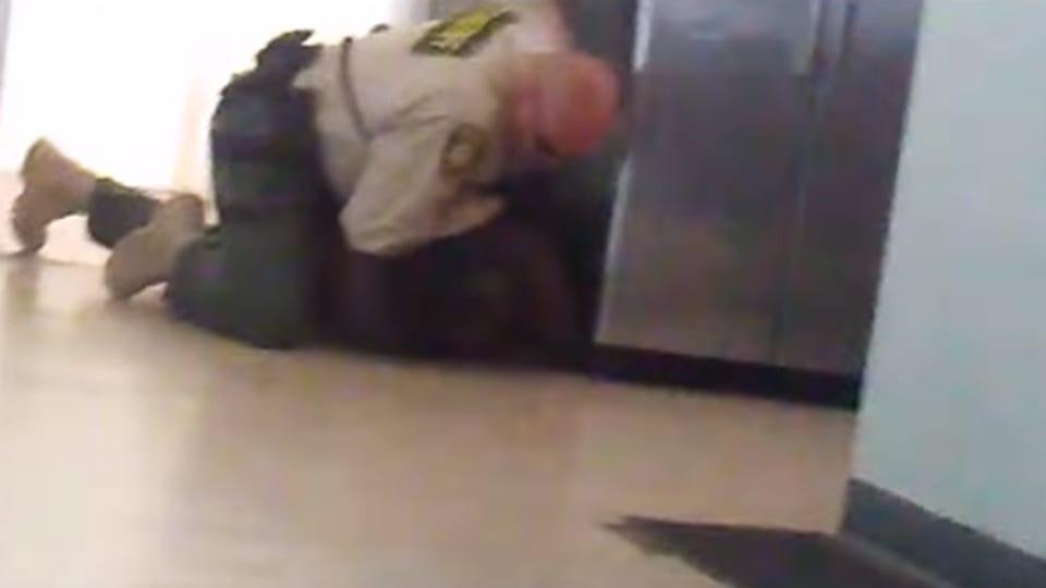 Arizona cop caught on camera violently attacking Black amputee