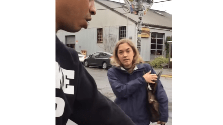 White Woman Calls Transport Cops On Black Couple For Bad Parking?