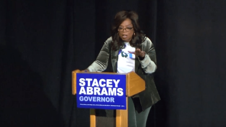 "Oprah Campaigns with Georgia Democrat Stacey Abrams: ""Honor Your Legacy"""