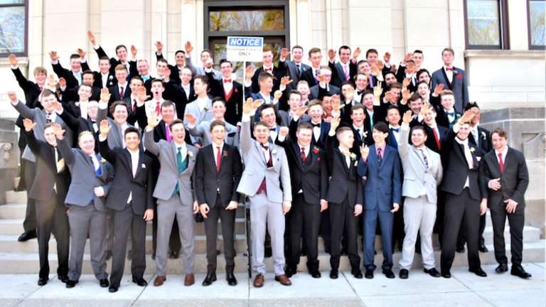 Boys at Wisconsin High School Called Out for Nazi Salute in Junior Prom Photo