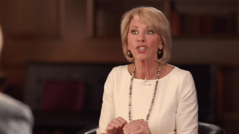 Betsy DeVos' Security Costing Taxpayers $20m