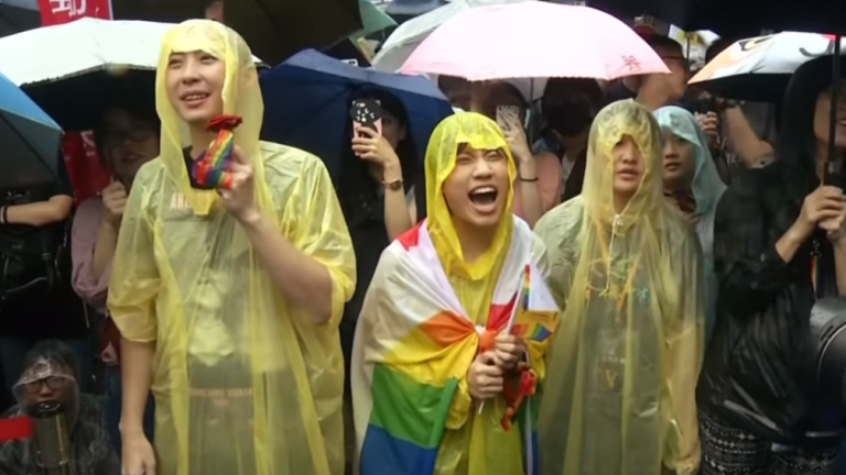 Taiwan makes history as first country in Asia to legalize same-sex marriage