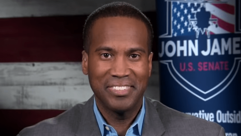 Republican John James announces Senate bid in Michigan