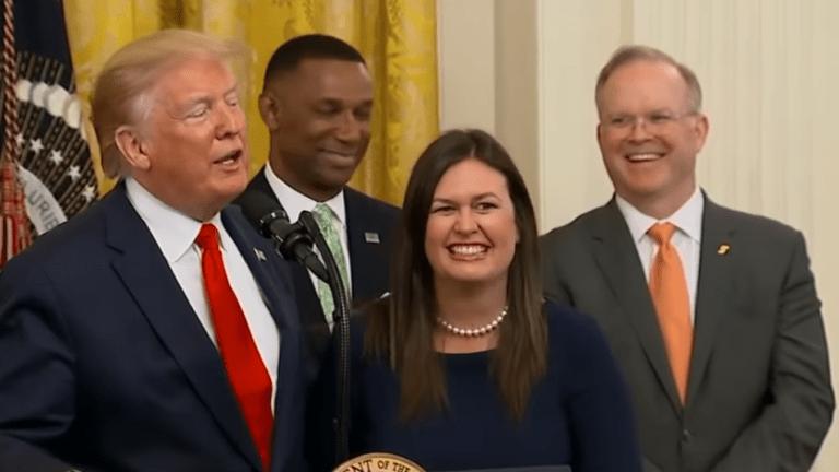 Sarah Huckabee Sanders resigns as White House Press Secretary