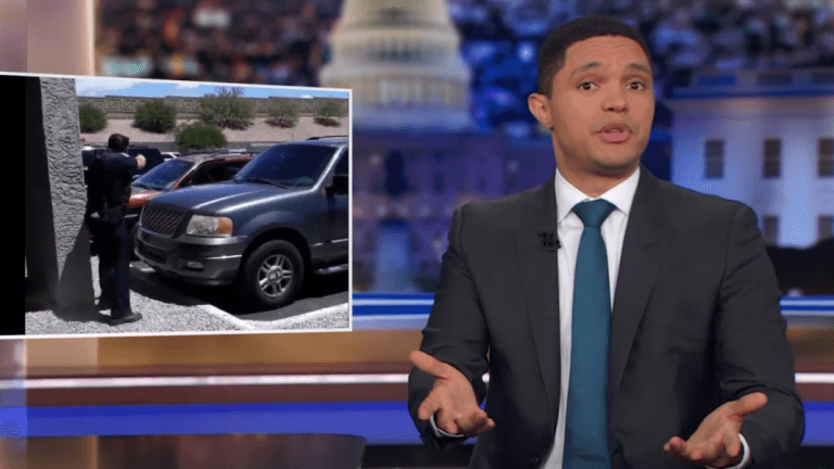 Trevor Noah slams Phoenix police for pulling out guns on Black family
