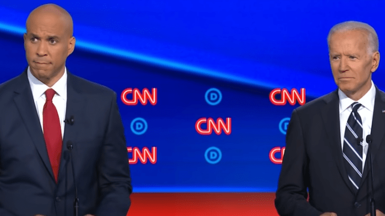 Booker to Biden: 'You're Dipping into the Kool-Aid and you don't even know the Flavor'