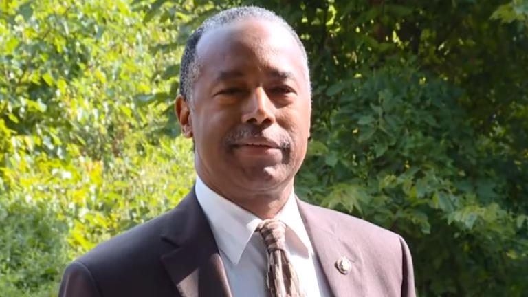 Ben Carson Kicked Off Baltimore Church Property