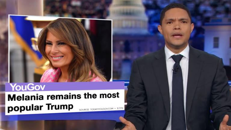 Trevor Noah Thinks President Trump is trying to Deport Melania