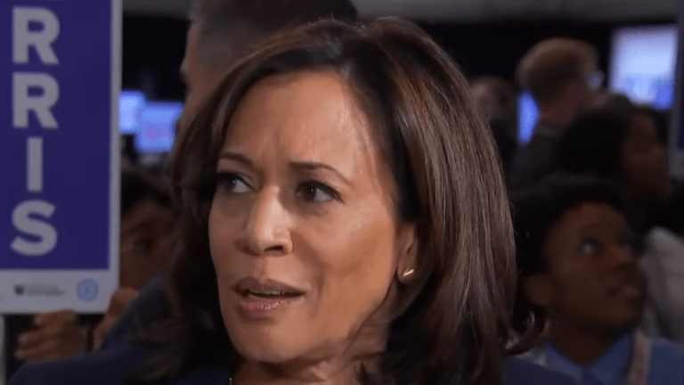 Kamala Harris: Trump is 'tweeting out the ammunition'