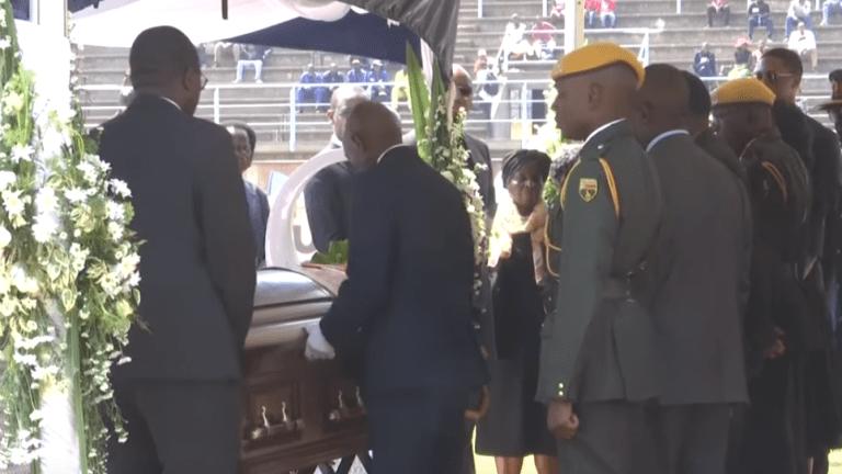 Former Zimbabwean President Robert Mugabe laid to rest