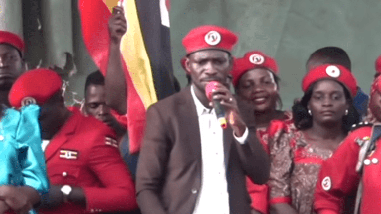 Uganda threatens prison sentence for anyone wearing red beret of presidential challenger