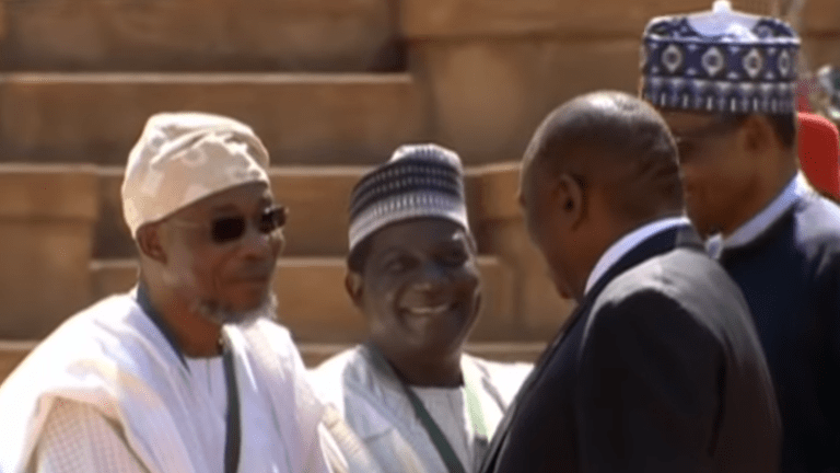 Nigeria's President visits South Africa amid reported xenophobic attacks