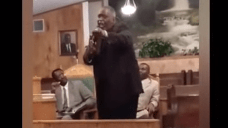 Pastor slammed after he was allegedly caught on camera giving woman oral sex