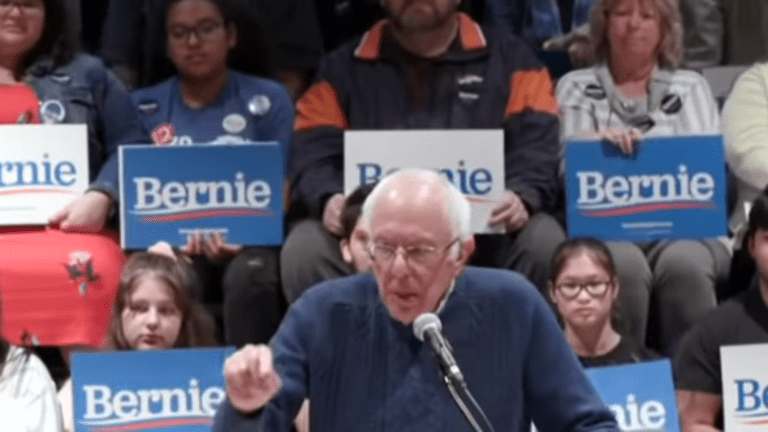 """Bernie Sanders tells Black student to """"respect"""" police officer """"so that you don't get shot in the back of the head"""""""
