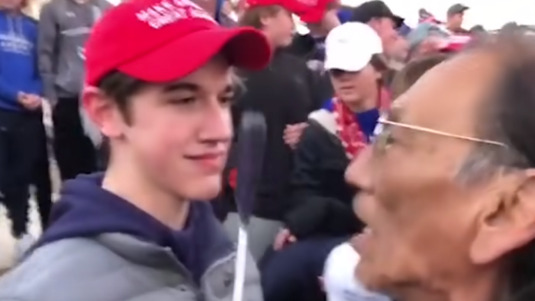 CNN reaches settlement with MAGA Teen, Nick Sandmann