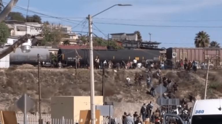 U.S. Customs and Border Patrol Fires Tear Gas at Migrants