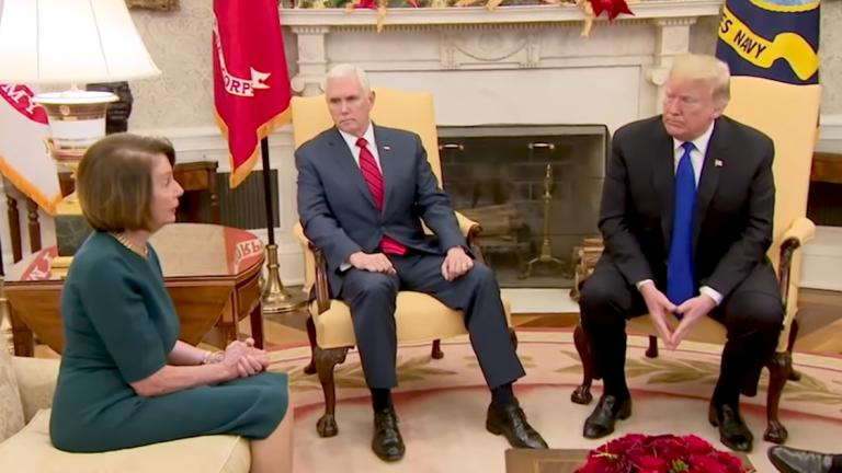 Trump's Threats of Government Shutdown Backfires