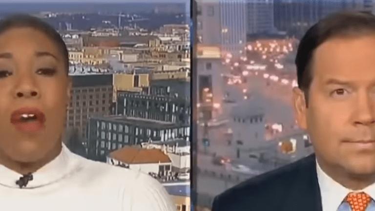 Symone Sanders Checks Steve Cortes over Wall