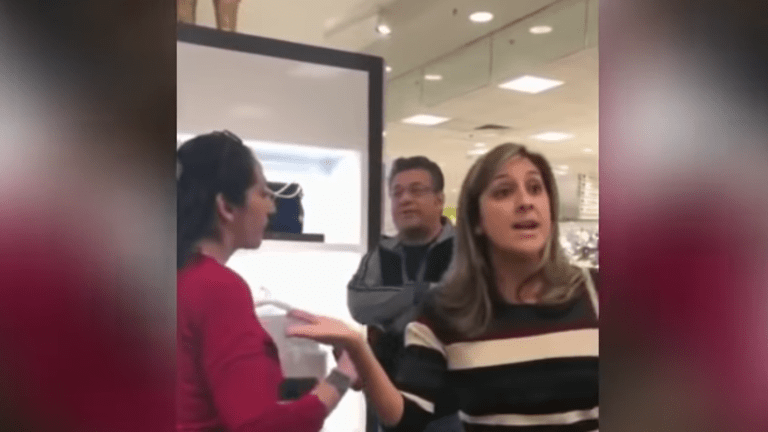 "White Customer to Macy's Employee: ""Go back to where you came from"""