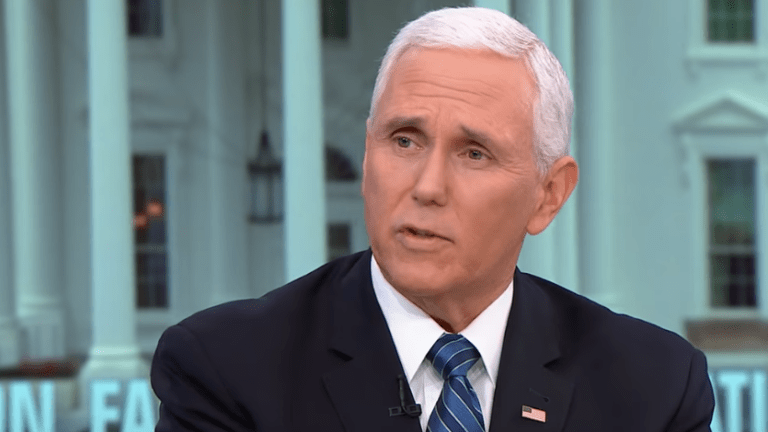 Mike Pence Slammed for Comparing Trump to Martin Luther King. Jr