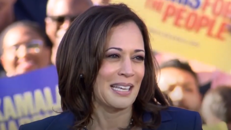 "Kamala Harris: ""Our American democracy under attack and on the line like never before"""