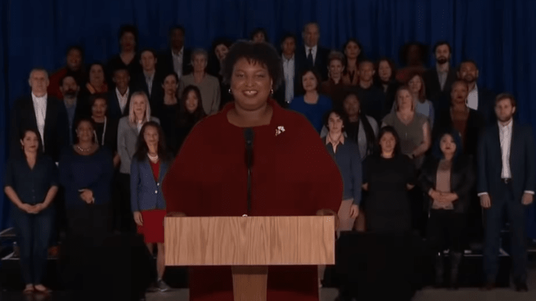 Stacey Abrams garners praise for Democratic SOTU response
