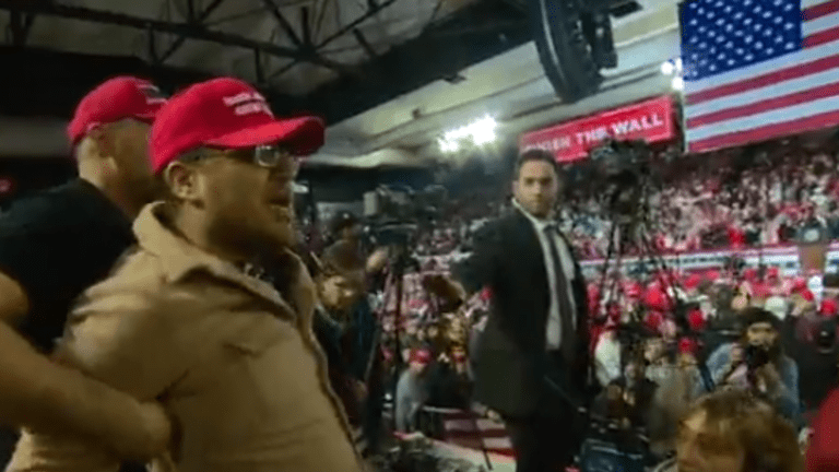 BBC cameraman attacked at Trump Rally