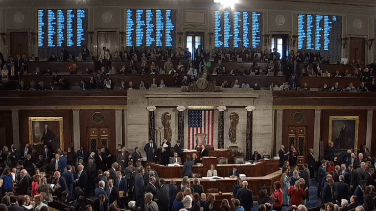 House passes vote to block Trump's Emergency Declaration