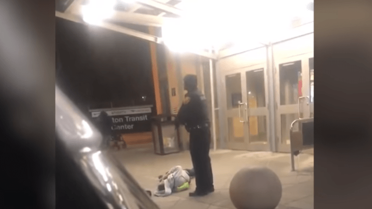 NJ Transit Police investigating video of officer beating and dragging unresponsive man