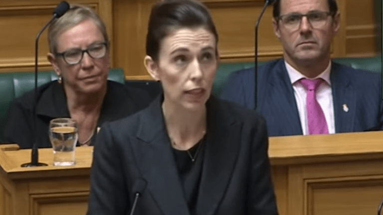 New Zealand's Prime Minister vows never to say gunman's name