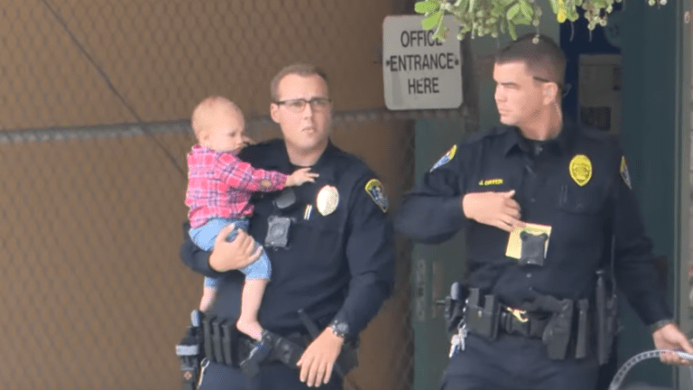 Armed woman with baby threatens to blow up San Diego Easter church service