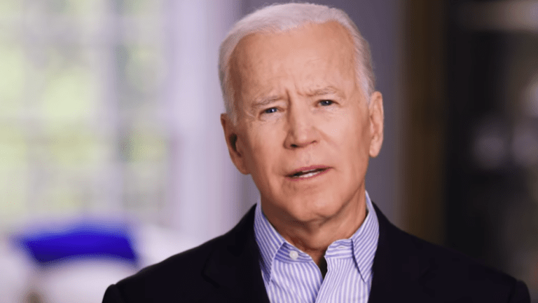 "Joe Biden slams Trump's ""abuse"" of office during first public rally"