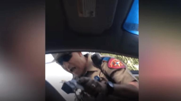 Sandra Bland filmed her traffic stop arrest on her cellphone