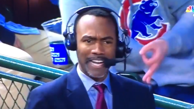 Cubs fan facing lifetime sneaking racist symbol onto live TV broadcast