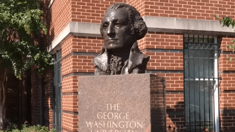 George Washington University president apologizes for 'insensitive' racial remark