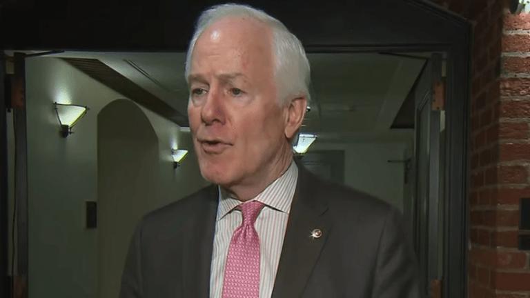 Sen. John Cornyn slammed over 'racist' COVID-19 remarks